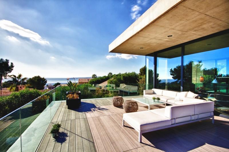 Tek Ailelik Ev için Satış at Elegant Villa With Sea Views In Costa D´En Blanes Costa D En Blanes, Mallorca 07181 Ispanya