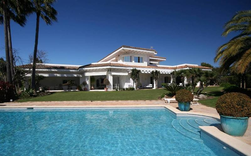 sales property at Magnificent residence in Sotogrande costa