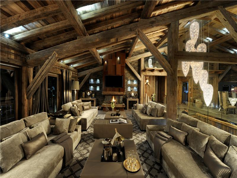 Single Family Home for Sale at Chalet Ecrin Blanc Megeve, Rhone-Alpes 74120 France
