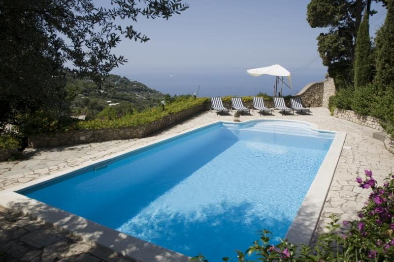 Property Of Spectacular villa with sea views in Capri Island