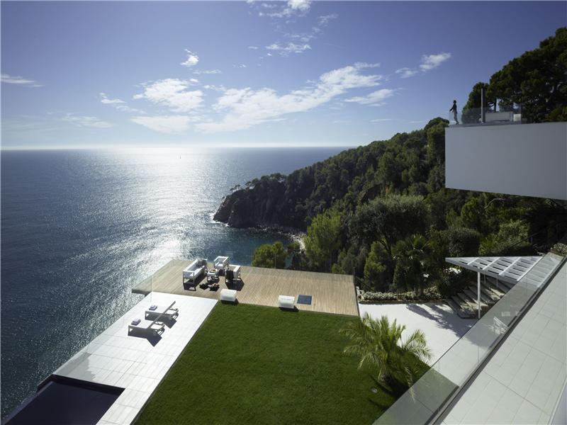 Vivienda unifamiliar por un Venta en Sensacional mansión de diseño con vistas infinitas Martossa, Tossa De Mar, Costa Brava 17320 España