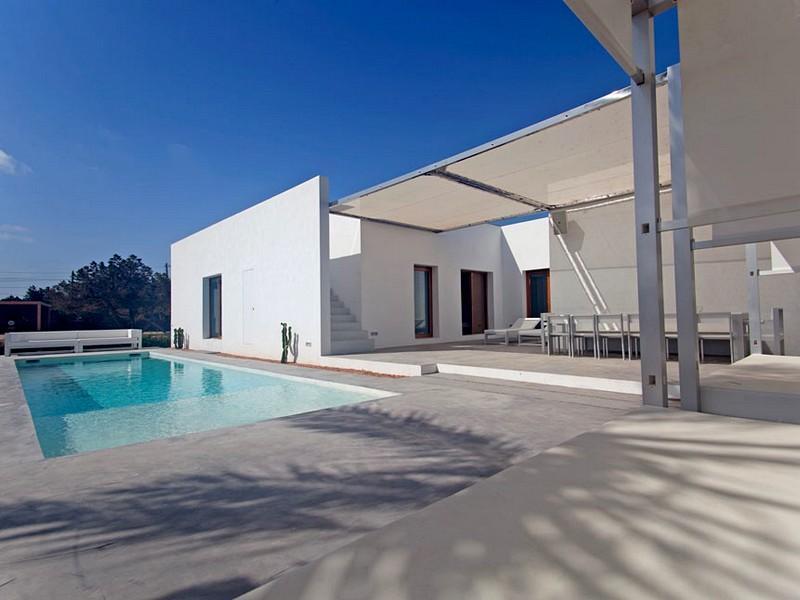Maison unifamiliale pour l Vente à Villa de construction nouvelle proche des plages Formentera, Formentera 07870 Espagne