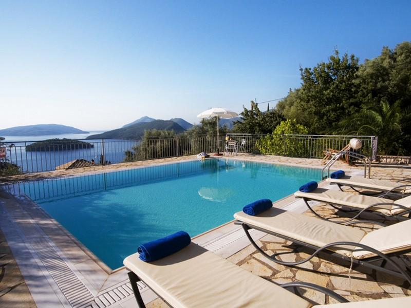 Property Of 3 Villas Complex in Lefkada