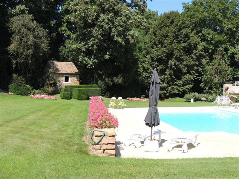 Additional photo for property listing at village chateau with mediaeval tower  Other Burgundy, Bourgogne 71250 France
