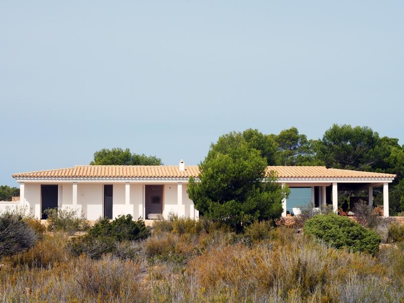 Casa Unifamiliar por un Venta en Unique Southeast Facing Front Line Villa Cap De Barbaria, Formentera 07871 España