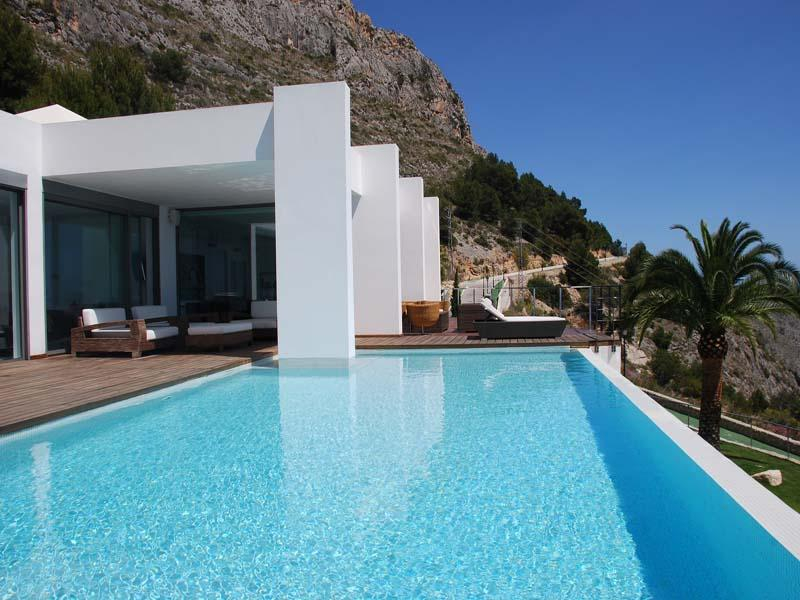 Single Family Home for Sale at Beautiful modern villa with spectacular views Altea, Alicante Costa Blanca 03590 Spain