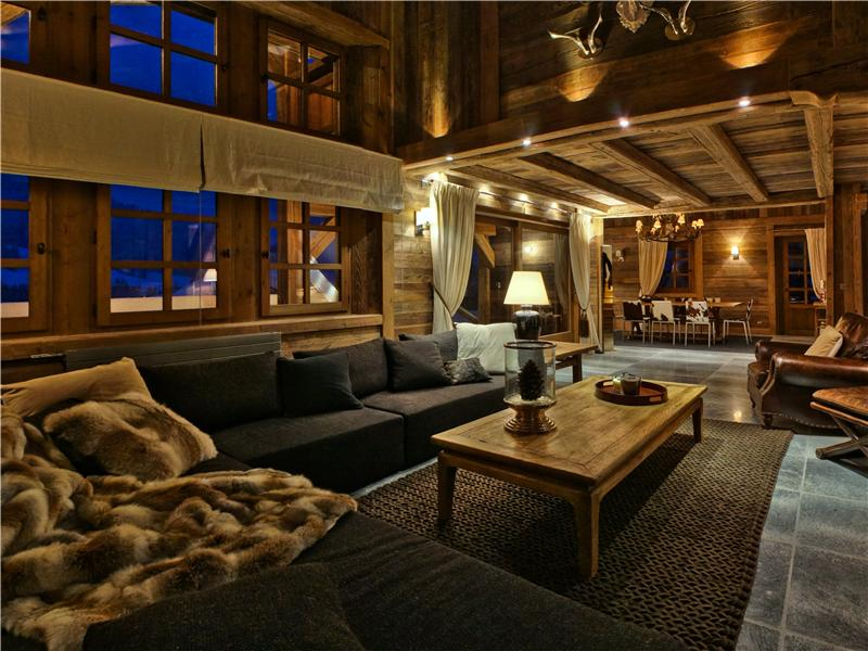 Single Family Home for Sale at Chalet Belle Vue Megeve, Rhone-Alpes 74120 France