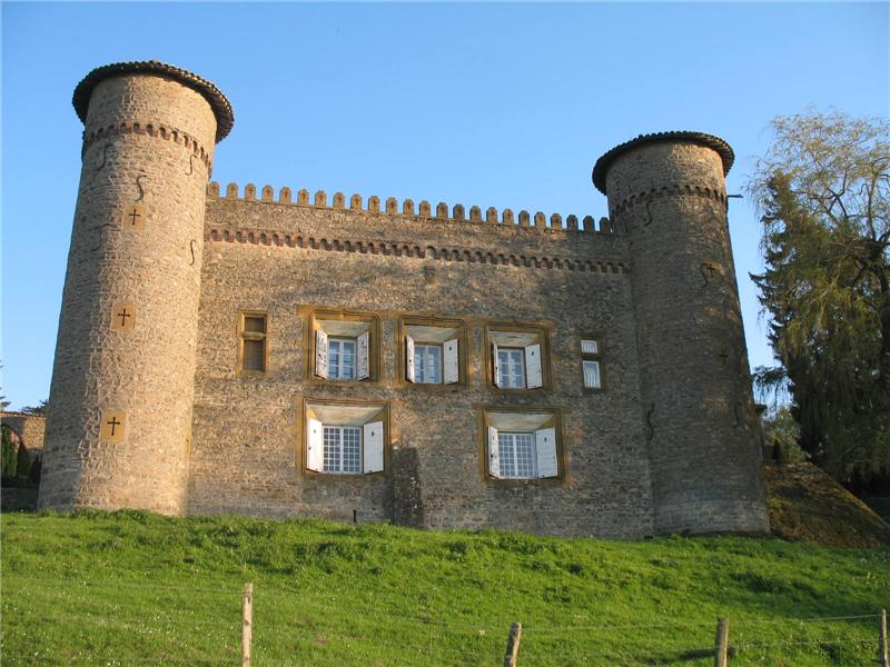 Other Residential for Sale at AT THE TOP OF A HILL, CASTLE OF THE XIX° CENTURY Lyon, Rhone-Alpes 69260 France