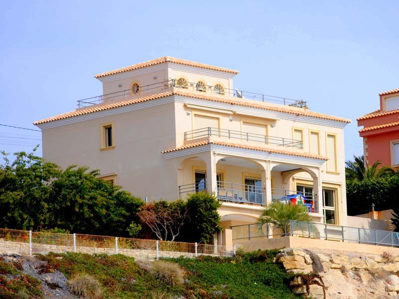 Tek Ailelik Ev için Satış at First line villa with amazing coast views Albir, Alicante Costa Blanca 03560 Ispanya