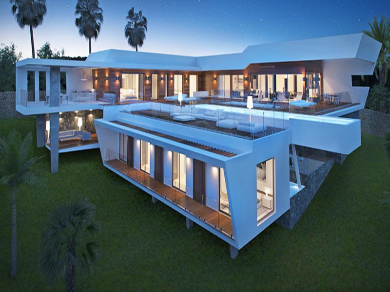 Maison unifamiliale pour l Vente à Building Plot with stunning Project and Seaviews Altea, Alicante Costa Blanca 03730 Espagne