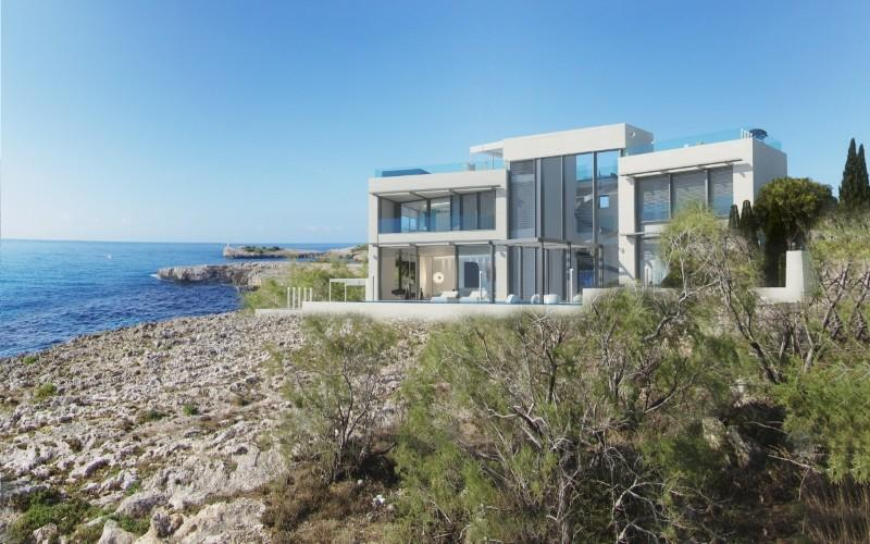 Property Of Project For Modern Seafront Villa in Porto Cristo