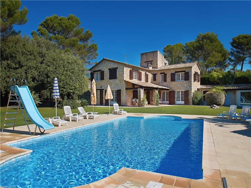 Other Residential for Sale at Beautiful Stone Villa in a Private Domain Grasse, Provence-Alpes-Cote D'Azur 06130 France
