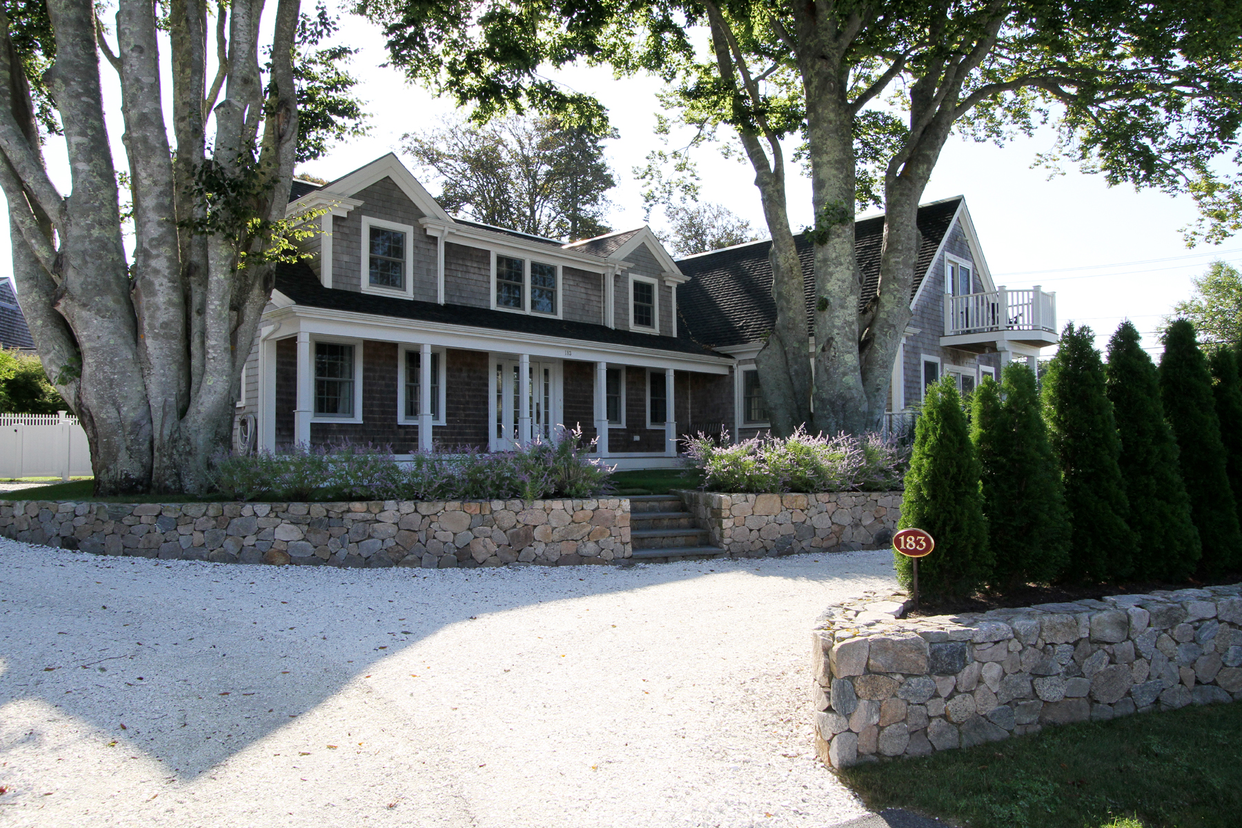 Single Family Home for Sale at EXQUISITE COASTAL LIVING 183 Stage Harbor Road Chatham, Massachusetts 02633 United States