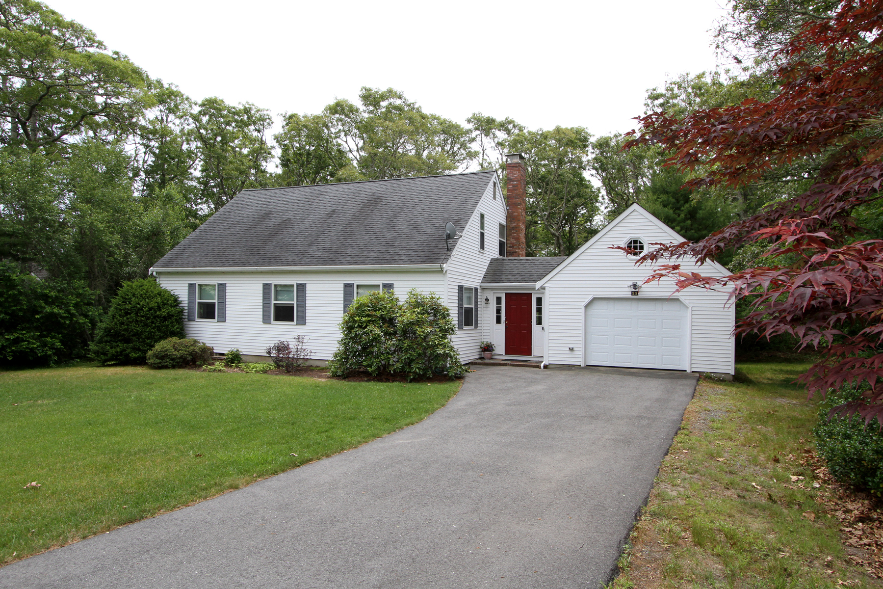 Single Family Home for Sale at IDYLLIC ORLEANS CHARMER 23 Baywood Drive Orleans, Massachusetts 02653 United States