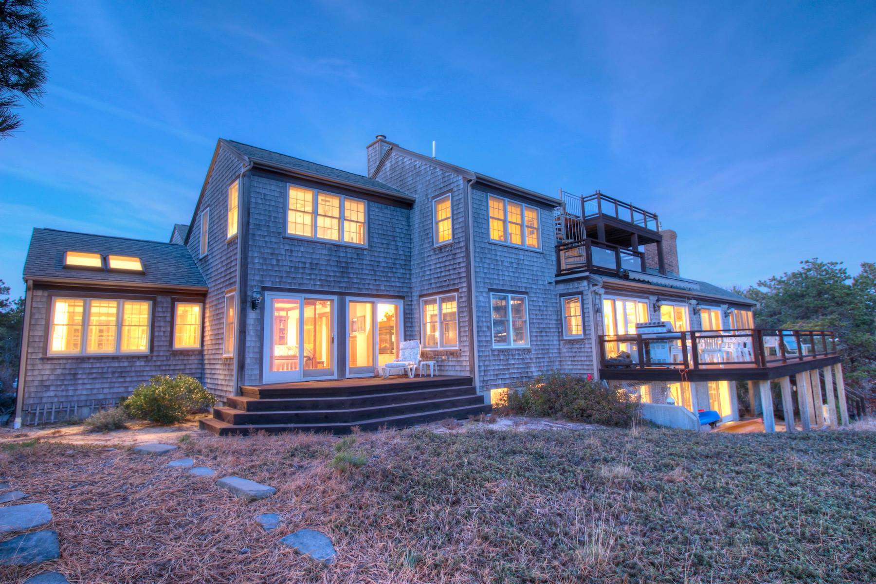 sales property at 615 Chequessett Neck Road, Wellfleet, MA