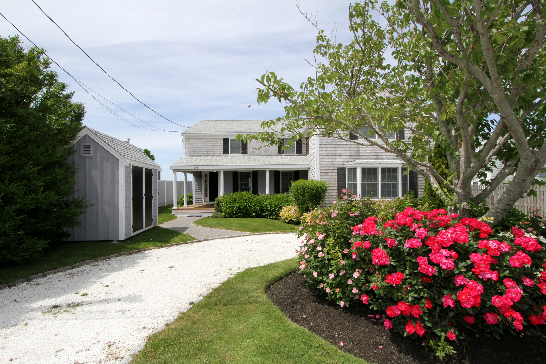 Single Family Home for Sale at BARNSTABLE WATERFRONT 105 Sunset Lane Barnstable, Massachusetts 02630 United States