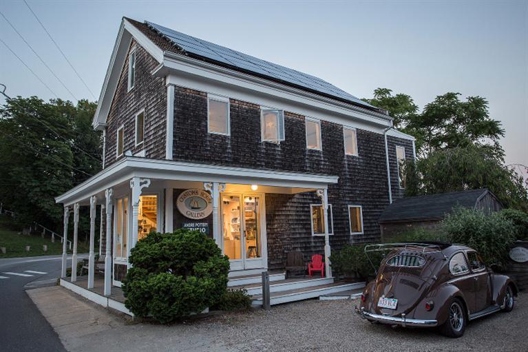 Tek Ailelik Ev için Satış at Civil War Gem 5 Commercial Street Wellfleet, Massachusetts, 02667 Amerika Birleşik Devletleri