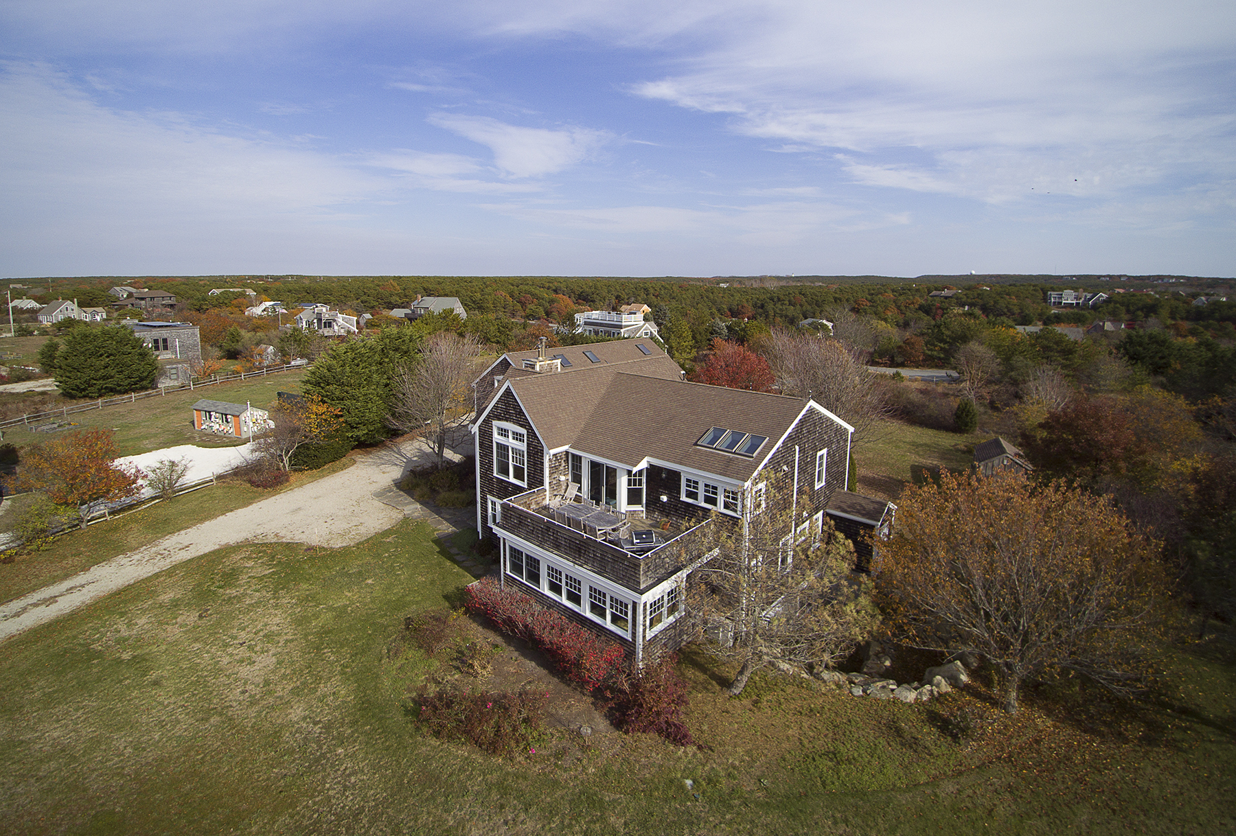Single Family Home for Sale at 22 Bay View Road, Truro, MA Truro, Massachusetts, 02666 United States