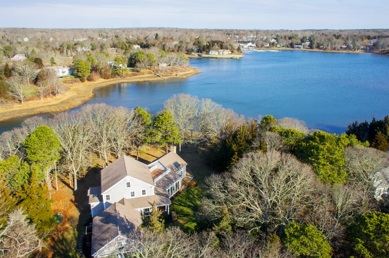 Single Family Home for Sale at 58 Tides End Lane, Orleans, MA Orleans, Massachusetts 02653 United States