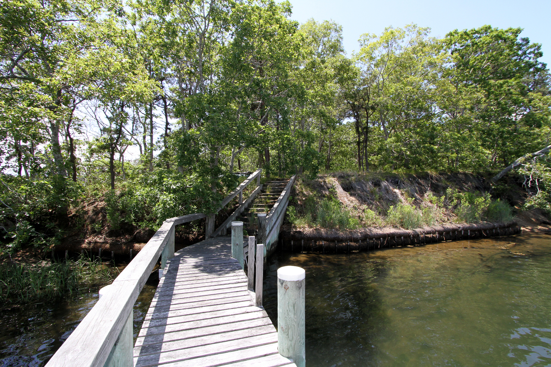 sales property at RIVERFRONT ACREAGE WITH DOCK