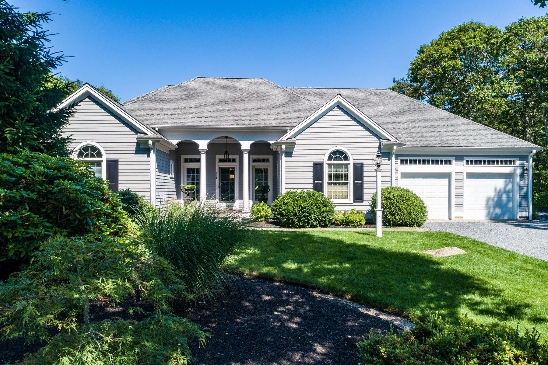 Single Family Homes for Active at 114 Captains Village Lane, Brewster, MA 114 Captains Village Lane Brewster, Massachusetts 02631 United States