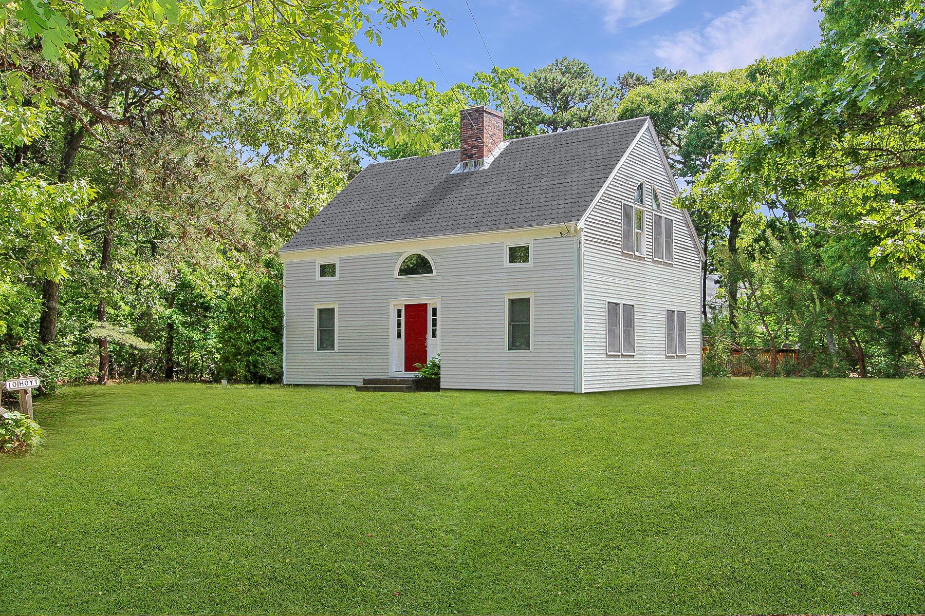 Single Family Homes 용 매매 에 10 Hoyt Road, Eastham, MA Eastham, 매사추세츠 02642 미국