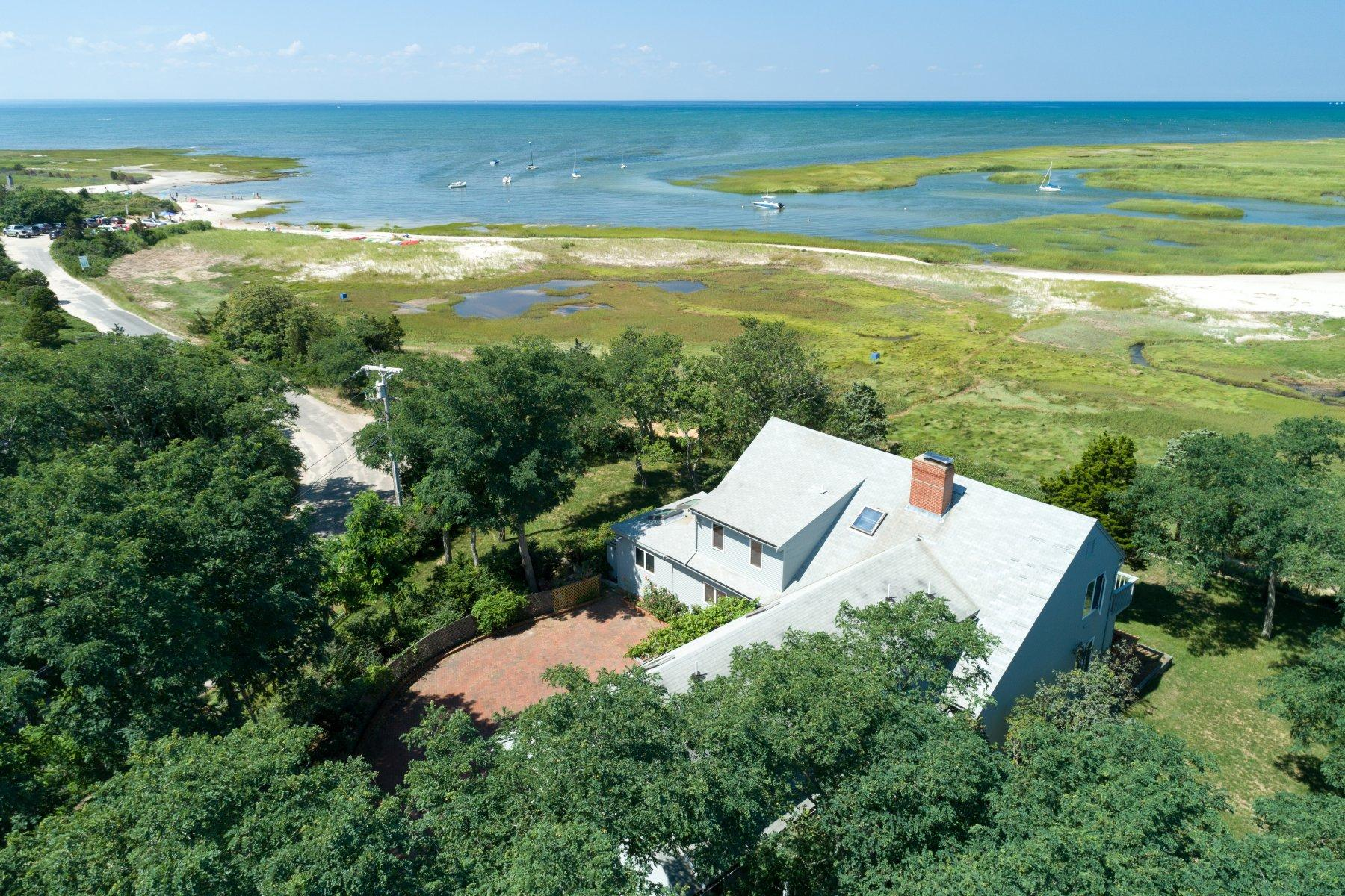 Single Family Home for Sale at Ultimate Bayfront Living 45 Bay View Road Eastham, Massachusetts 02642 United States
