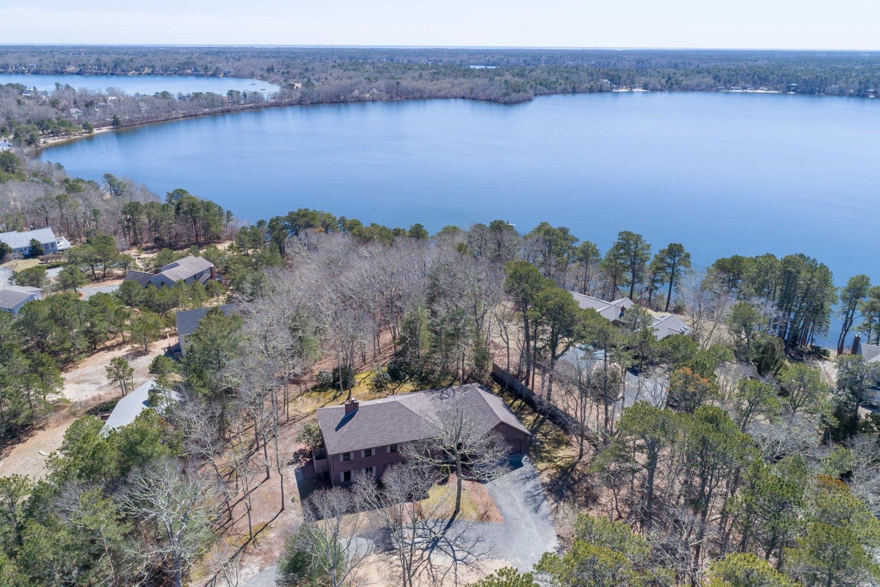 Single Family Home for Sale at 202 Brook Trail Road, Brewster, MA Brewster, Massachusetts, 02631 United States