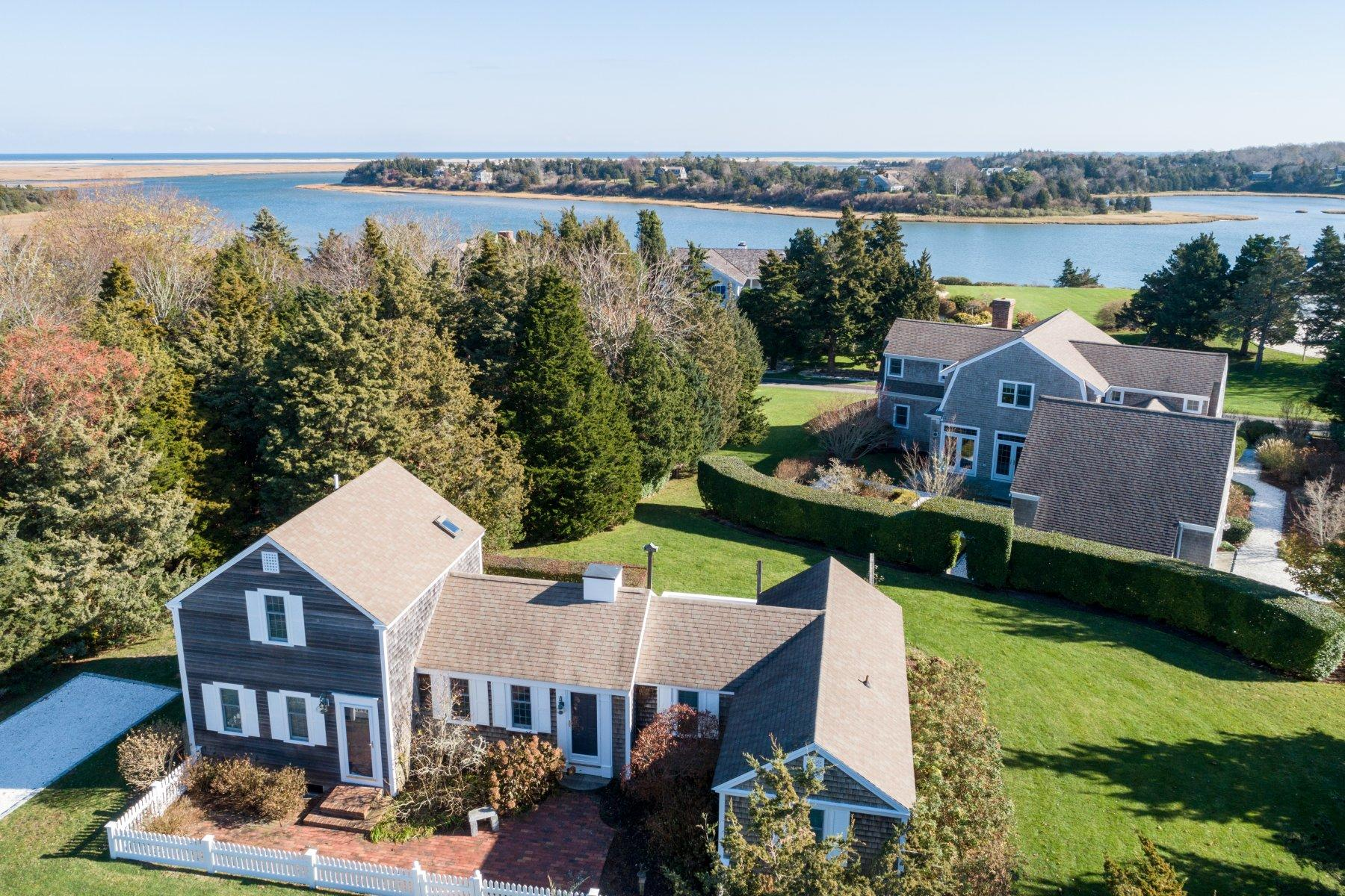 Single Family Homes for Sale at 45-55 Cove Road, Eastham, MA 45-55 Cove Road Eastham, Massachusetts 02642 United States