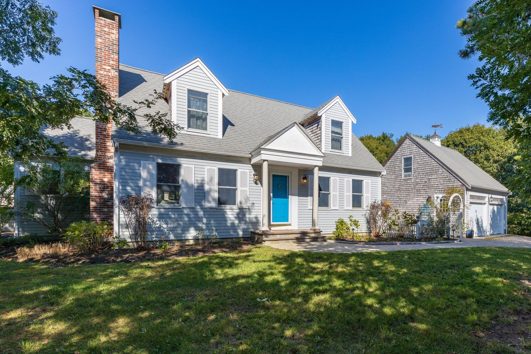 Single Family Homes 용 매매 에 5 Sandy Meadow Way, Eastham, MA Eastham, 매사추세츠 02642 미국