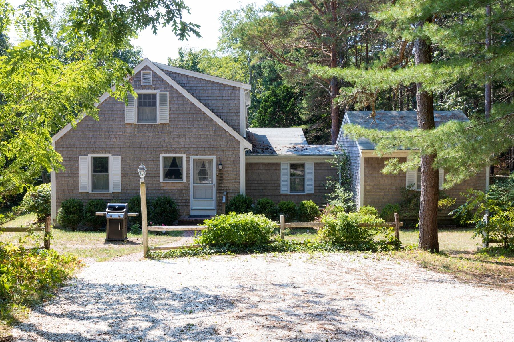 Single Family Home for Active at 2155 Old Kings Highway, Wellfleet, MA 2155 Old Kings Highway Wellfleet, Massachusetts 02667 United States