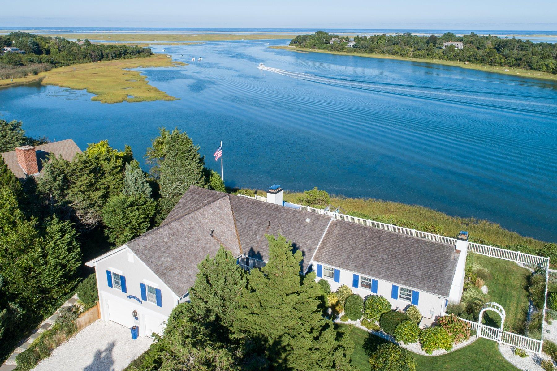 Single Family Homes for Sale at 15 Cliff Road, Eastham, MA 15 Cliff Road Eastham, Massachusetts 02642 United States
