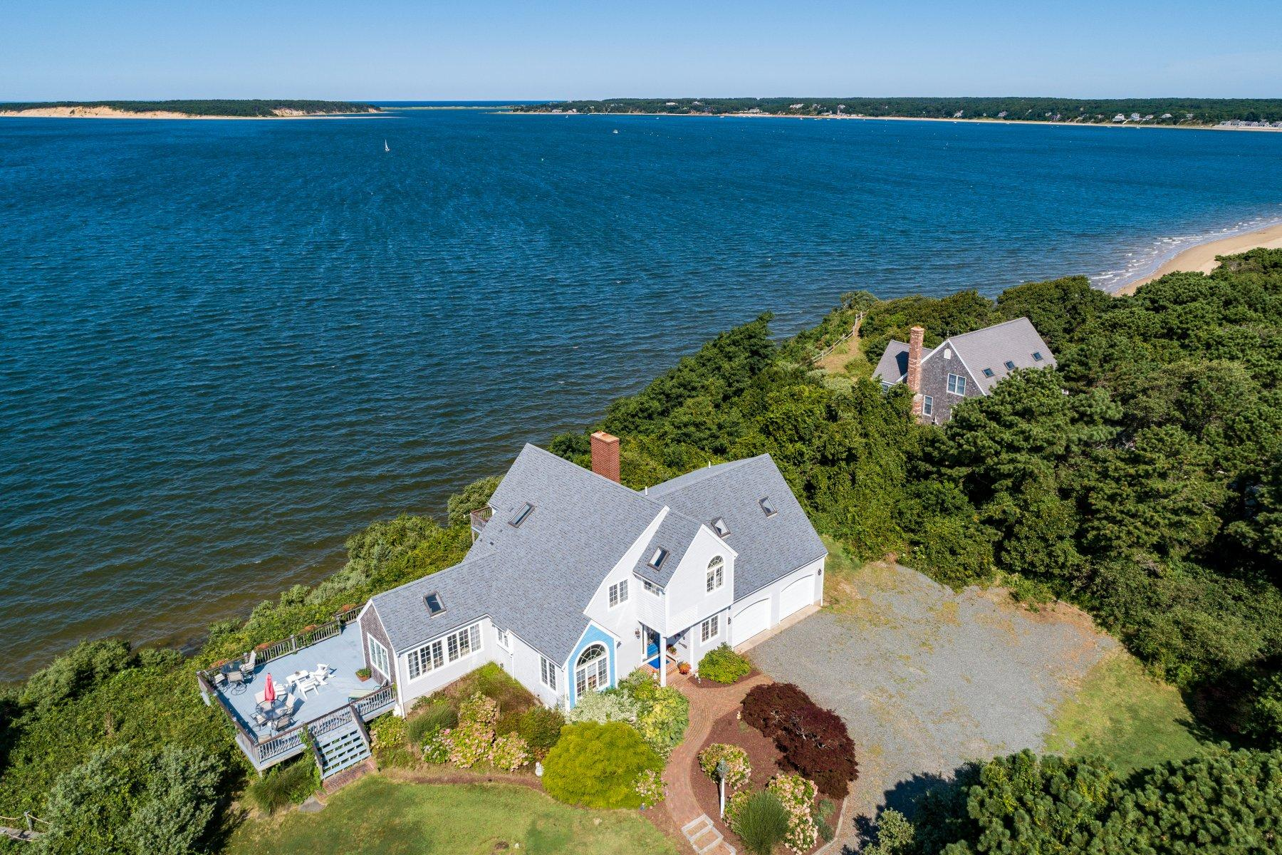 Single Family Homes for Sale at 205 Samoset Avenue, Wellfleet, MA 205 Samoset Avenue Wellfleet, Massachusetts 02667 United States