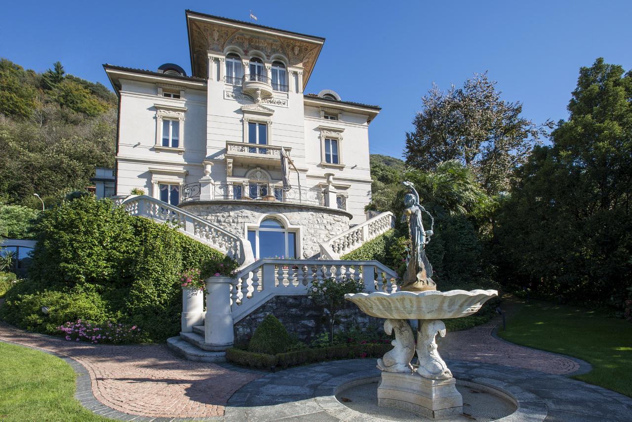 단독 가정 주택 용 매매 에 Villa Wellingtonia Figino Figino, Ticino 6918 스위스