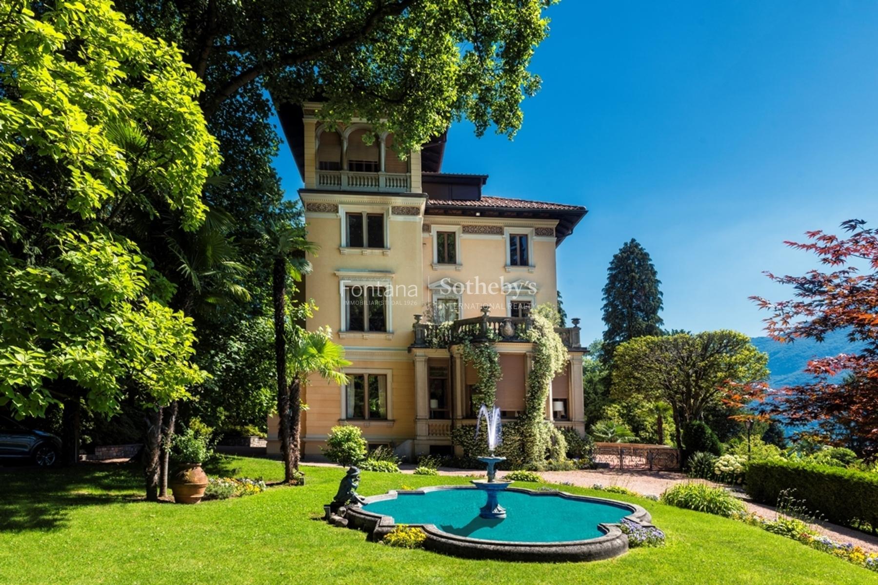 Casa para uma família para Venda às Villa Floridiana Porza Porza, Ticino, 6948 Suíça