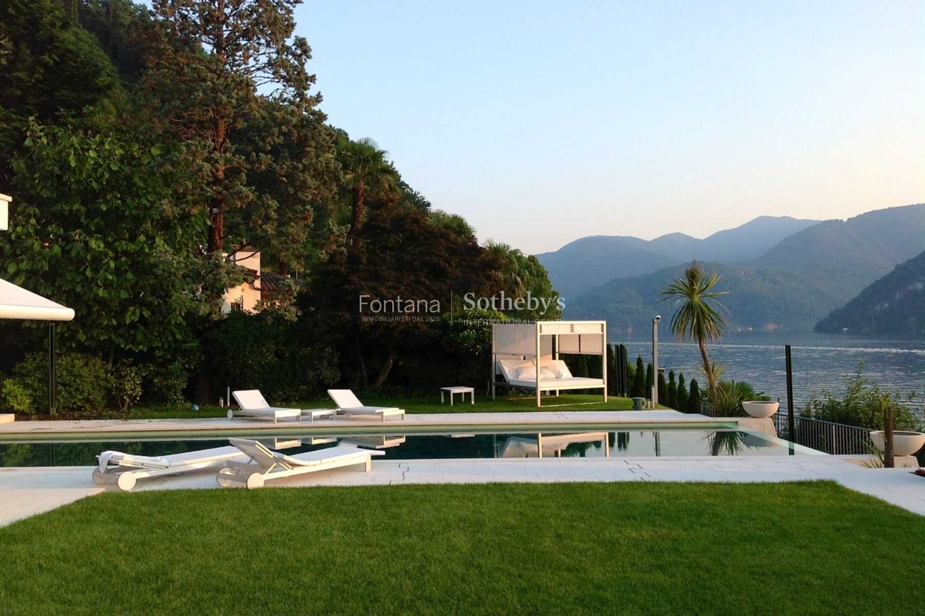 Property For Sale at Luxurious modern villa with own lake plot