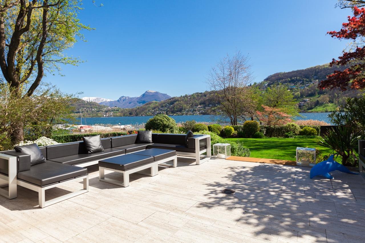 """Single Family Home for Sale at Lakefront Villa """"Schnebli"""" Lugano Magliaso, Ticino 6983 Switzerland"""