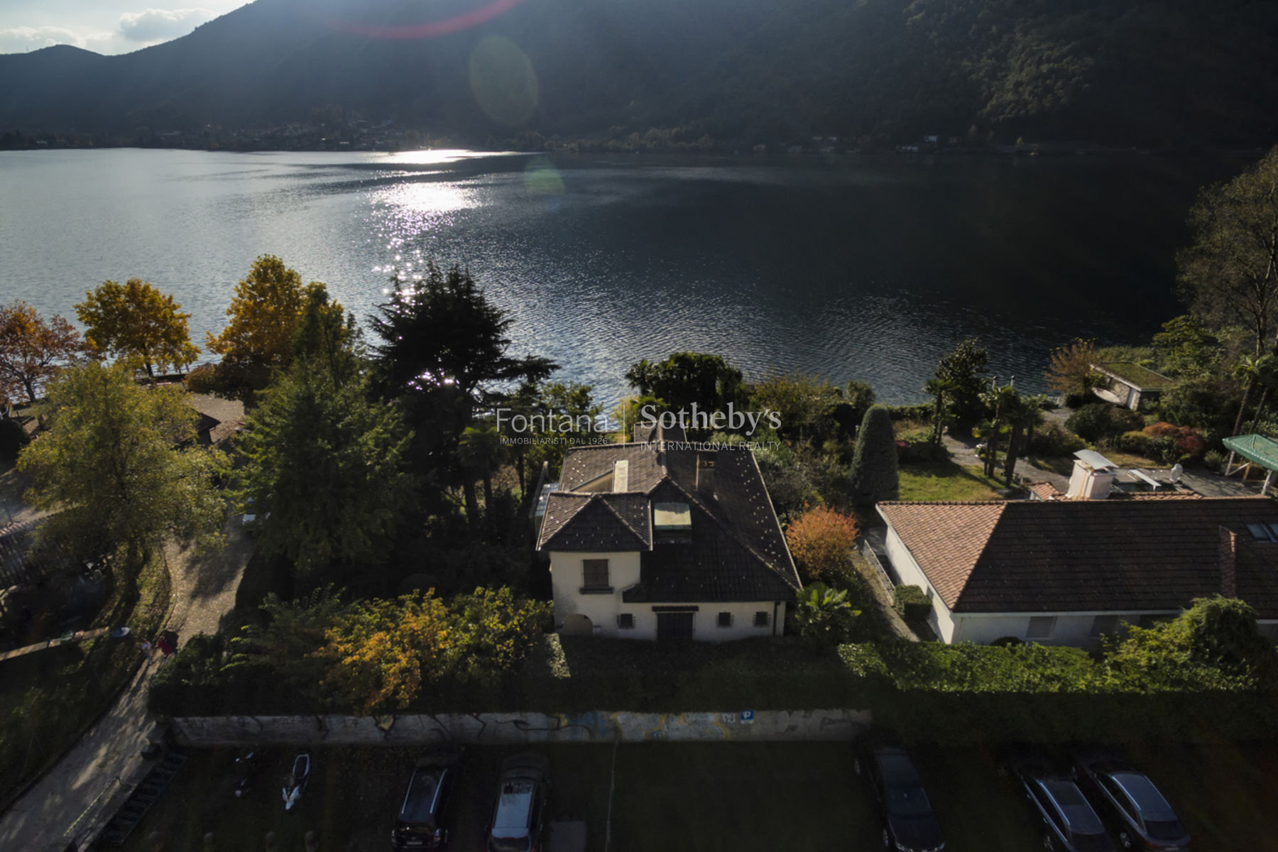 Additional photo for property listing at Property on the lake with boathouse Melano Other Switzerland, Other Areas In Switzerland 6818 Switzerland