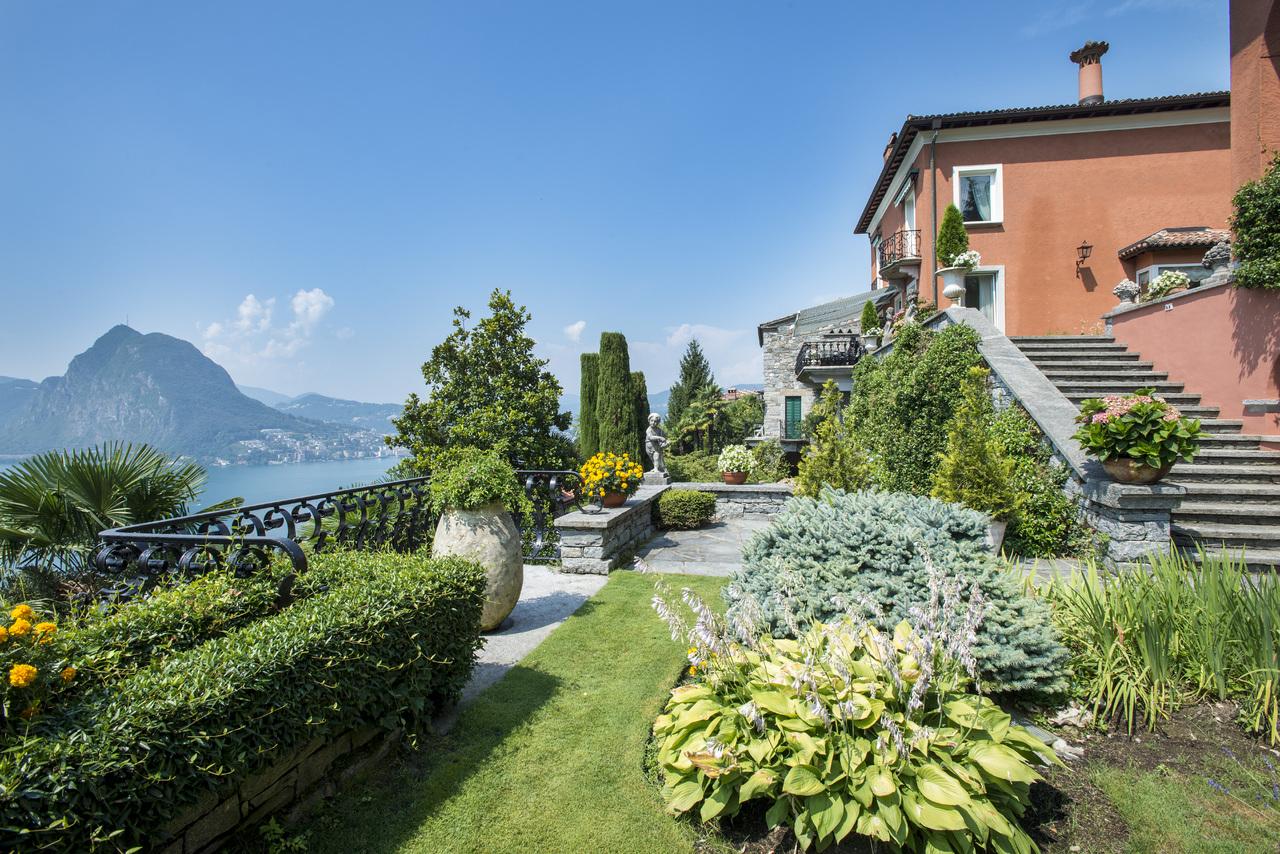 Single Family Home for Sale at Stupenda villa classica in zona residenziale di prestigio Castagnola Castagnola, Ticino 6976 Switzerland