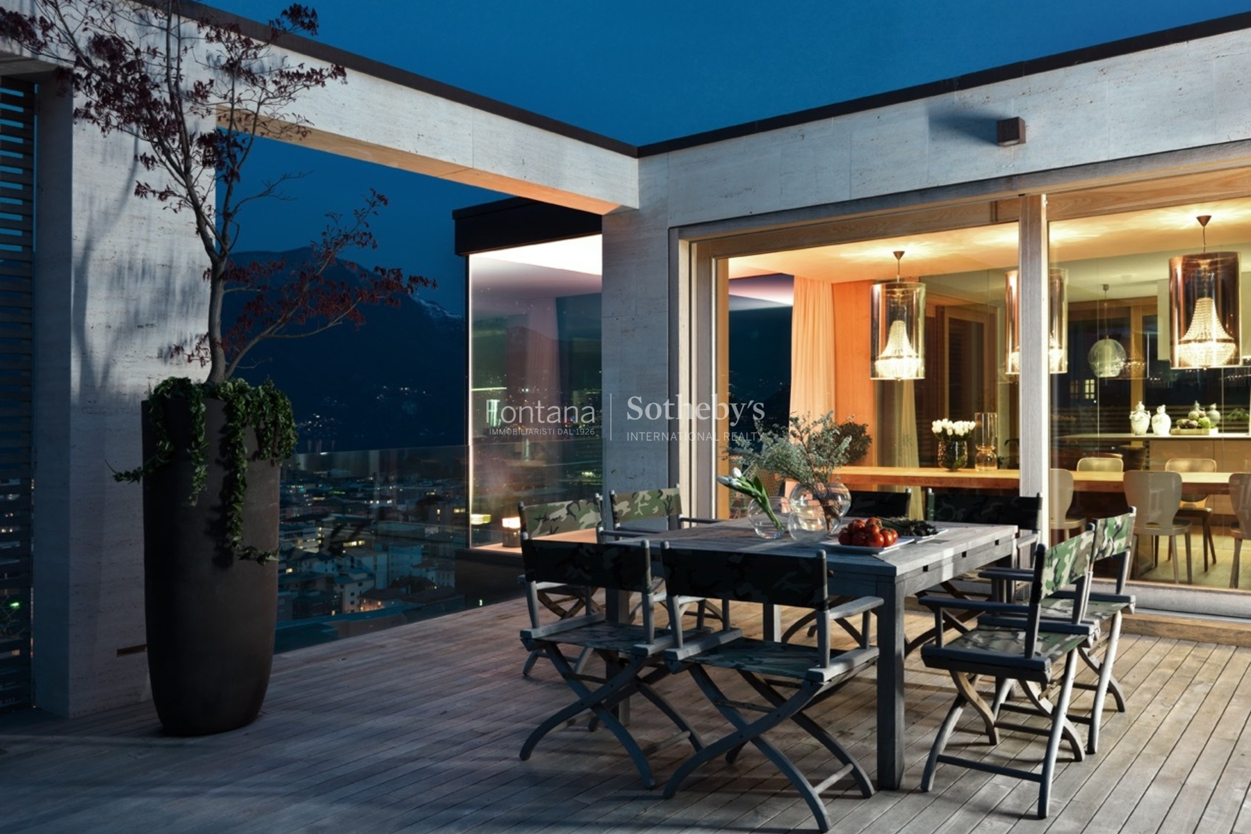 아파트 용 매매 에 Exclusive design-penthouse with living comfort Lugano Lugano, Ticino, 6900 스위스