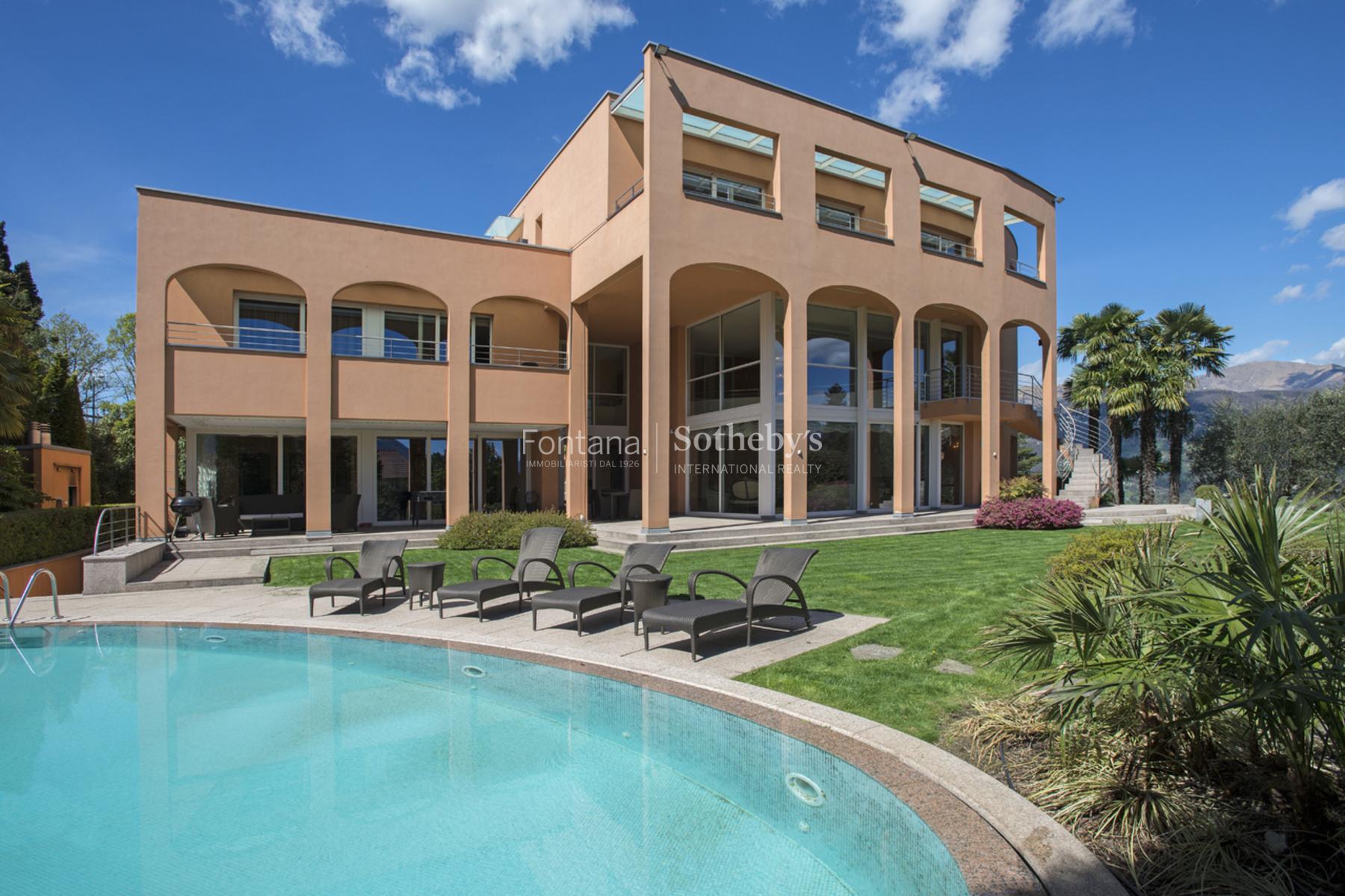 Single Family Home for Sale at Prestigious villa in requested Collina d'Oro Montagnola Montagnola, Ticino, 6926 Switzerland