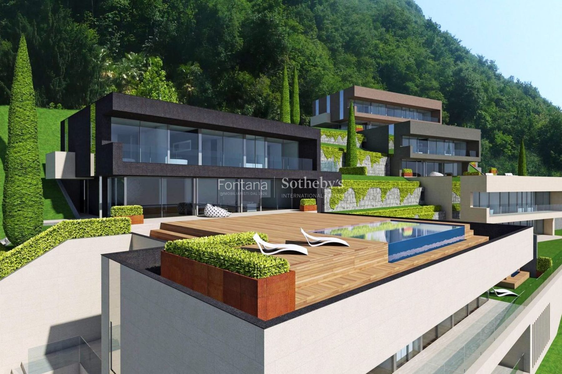 Single Family Home for Sale at DOMVS SOLIS - Villa D Castagnola Castagnola, Ticino, 6976 Switzerland