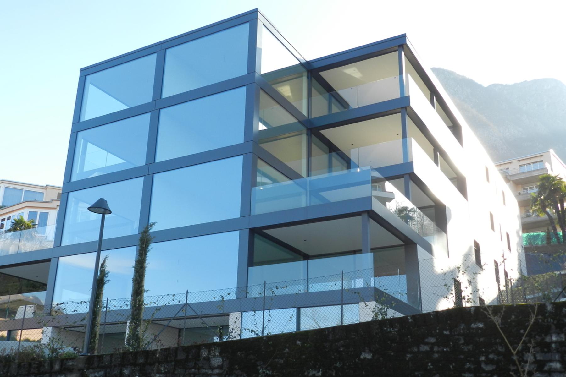 아파트 용 매매 에 Residence Vista Lago Lugano Paradiso, Paradiso, Ticino, 6900 스위스