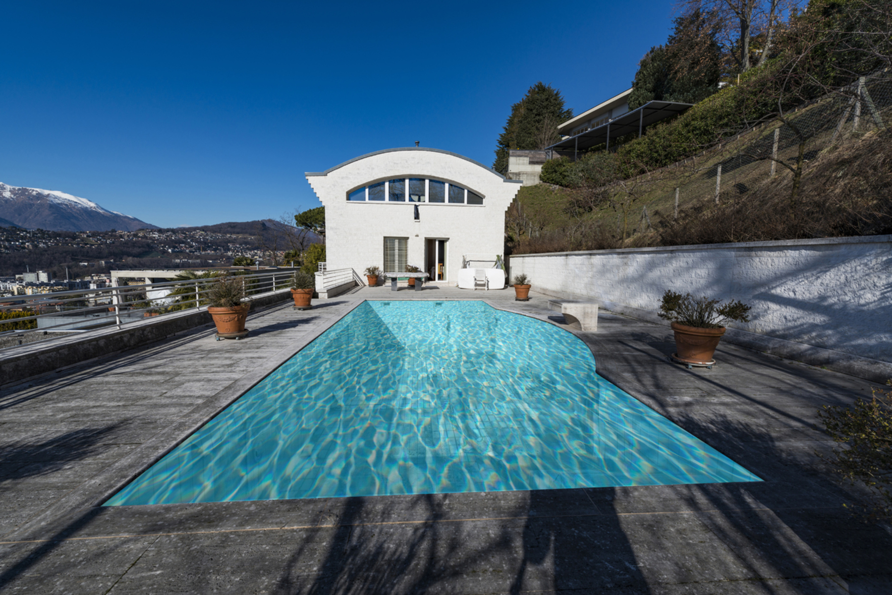 واحد منزل الأسرة للـ Sale في Twin villa with garden and private pool Viganello, Ticino, 6962 Switzerland