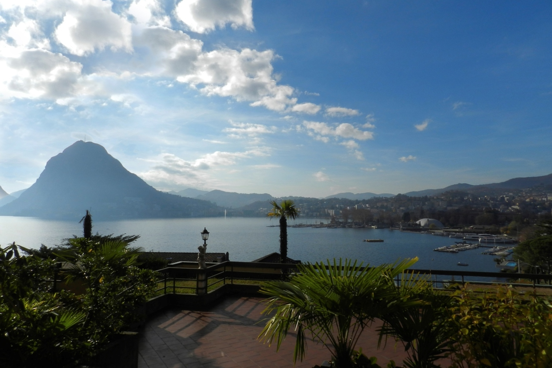 Apartment for Sale at Apartment with a large panoramic terrace Castagnola, Castagnola, Ticino, 6976 Switzerland