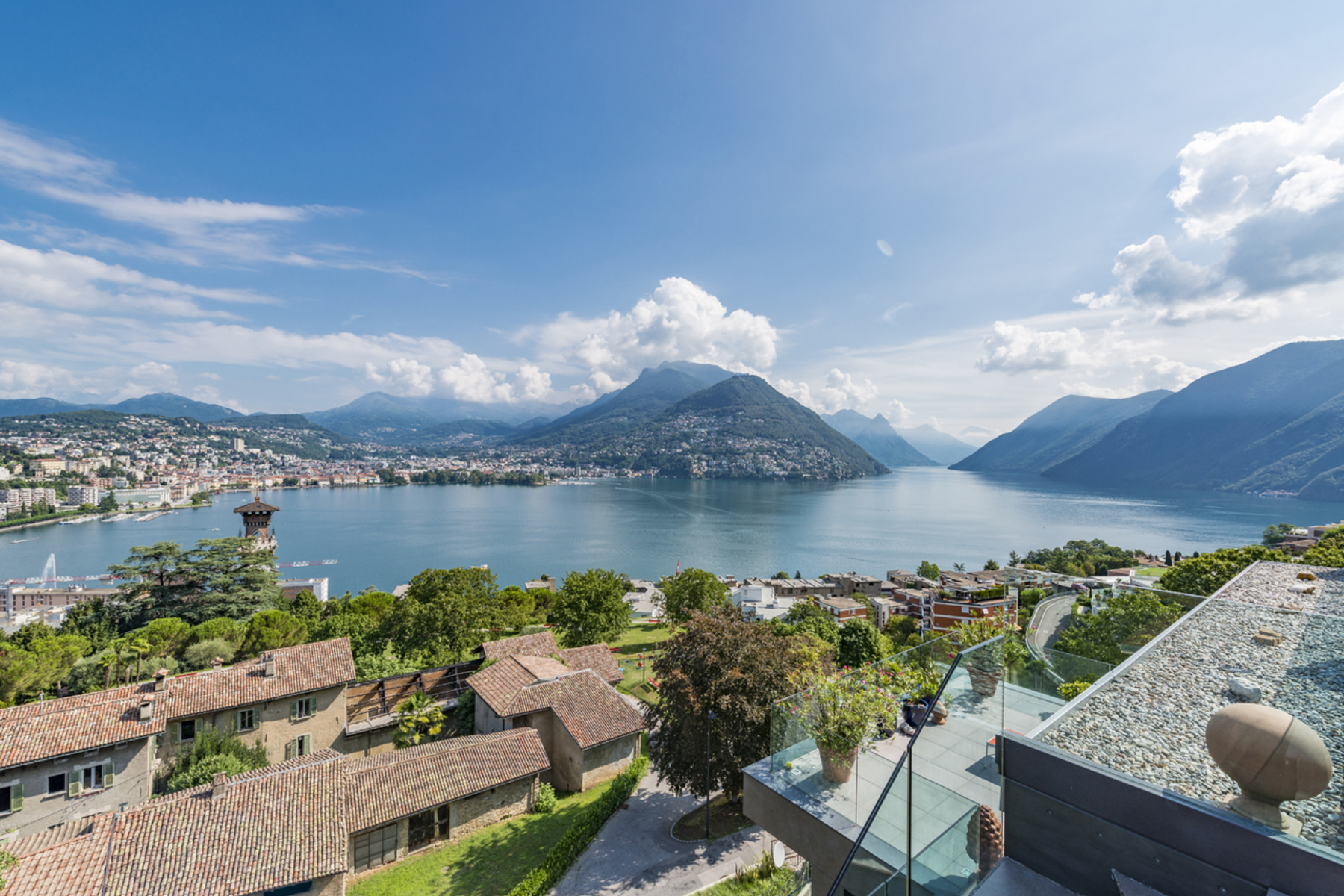 Apartments for Sale at Superb penthouse with stunning views Paradiso Paradiso, Ticino 6900 Switzerland