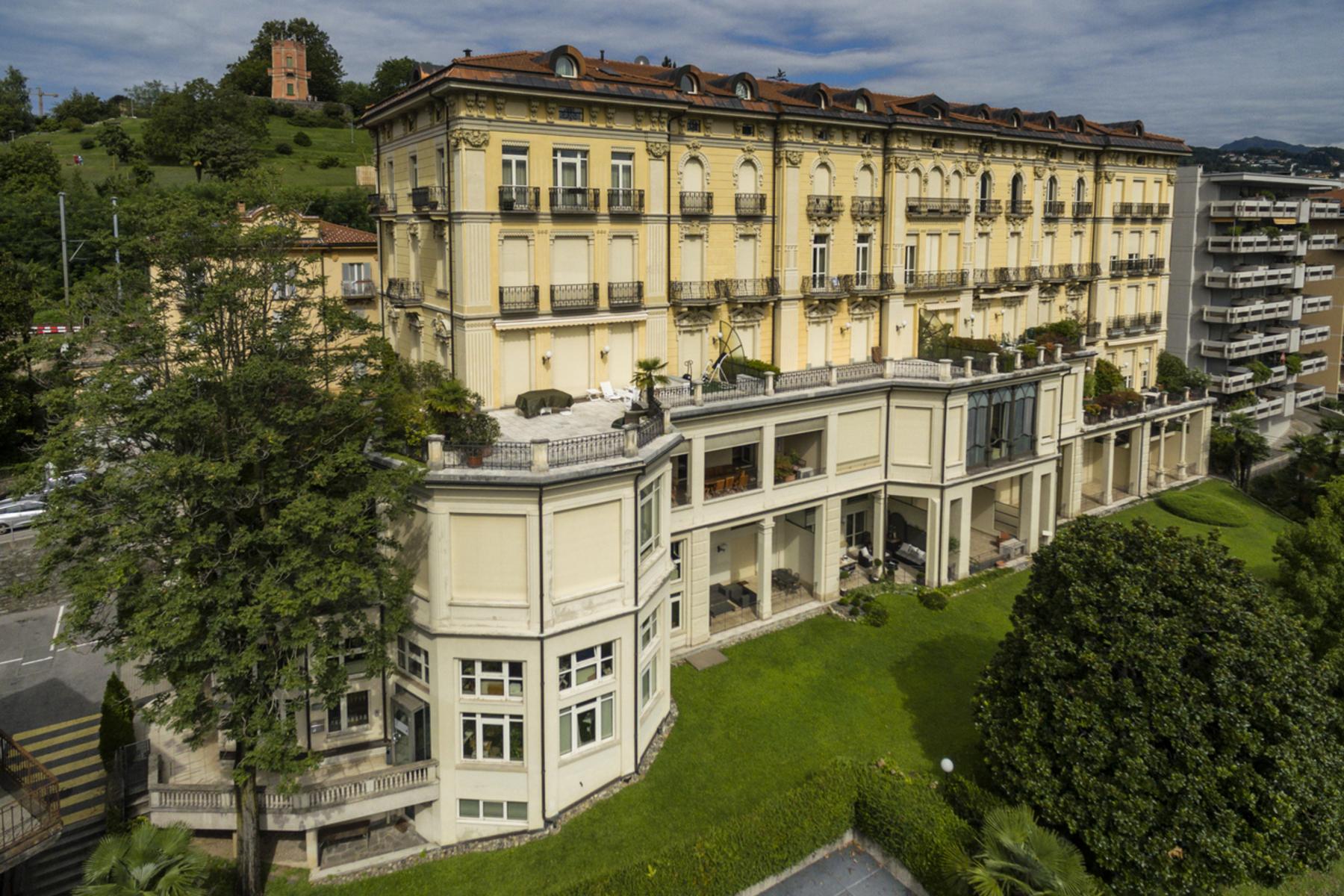 Duplex pour l à vendre à Prestigious duplex penthouse in a historic house Lugano, Lugano, Ticino, 6900 Suisse