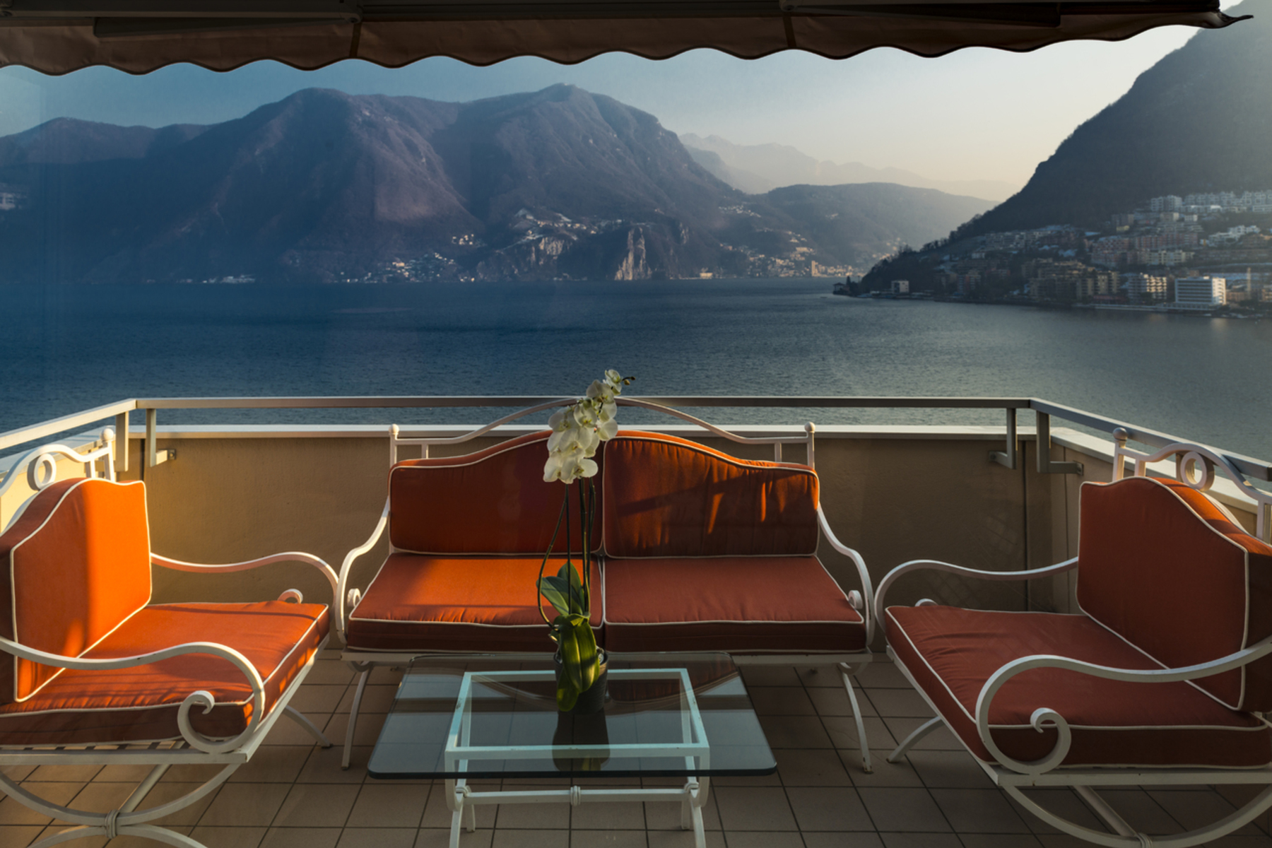 Apartment for Sale at Lakefront penthouse Lugano, Lugano, Ticino, 6900 Switzerland