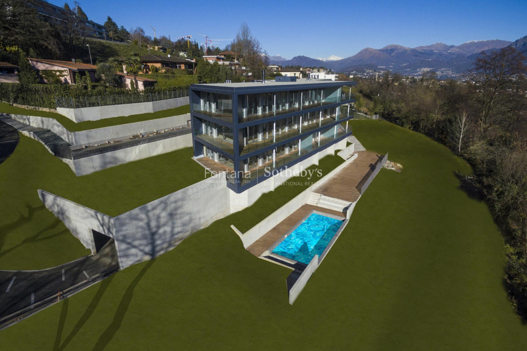 Квартира для того Продажа на Residence du parc - 4 ½-room apartment Montagnola Montagnola, Ticino, 6926 Швейцария