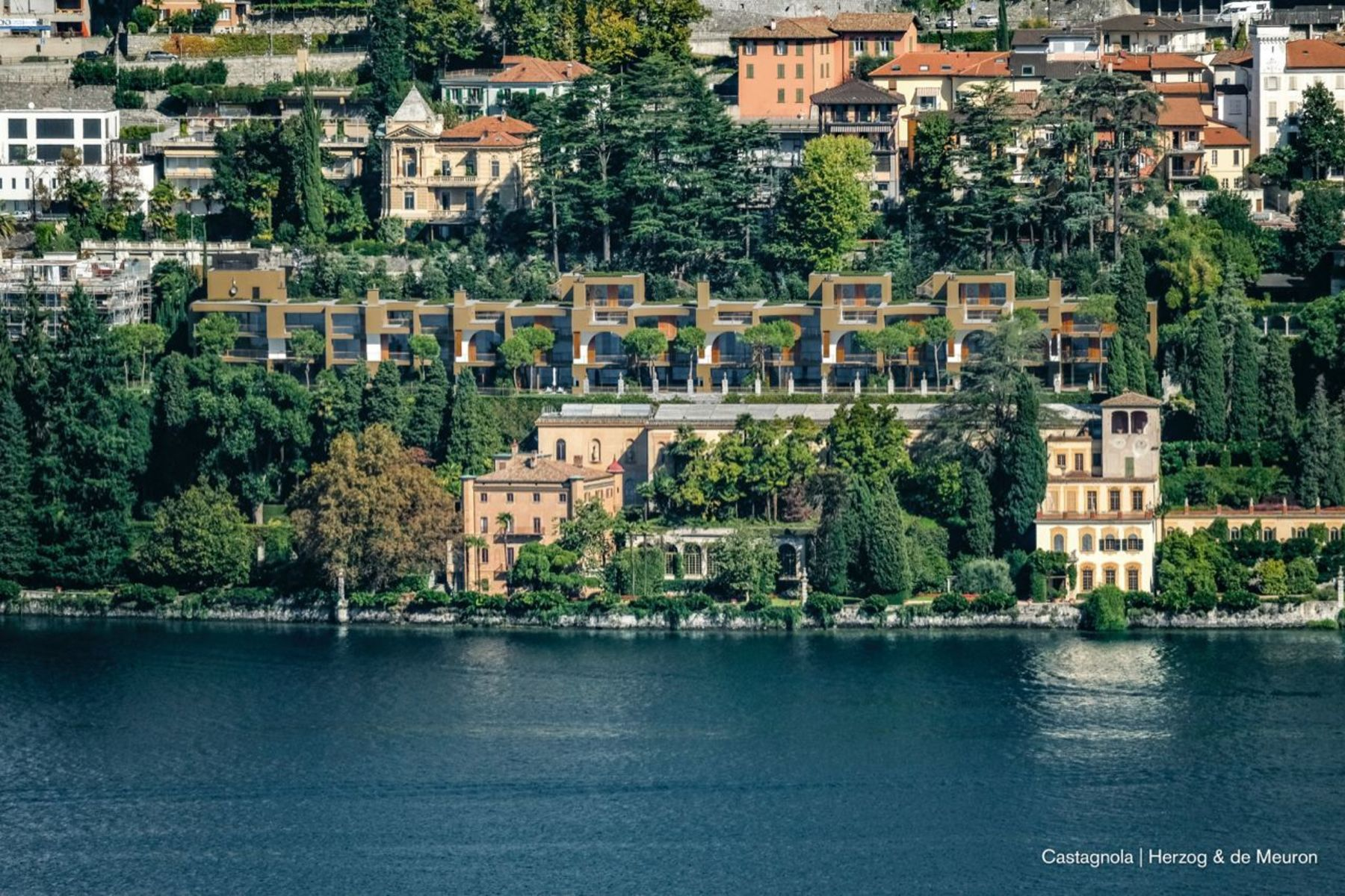 Single Family Homes for Sale at Archi di luce - by Herzog & de Meuron: villa 7 Lugano, Ticino 6900 Switzerland